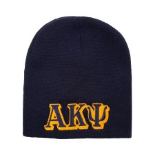Alpha Kappa Psi Embroidered Letter Beanie