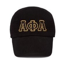 Alpha Phi Alpha Mesh Letter Cap