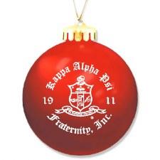 Kappa  Alpha Psi Ornament Ball
