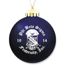 Phi Beta Sigma Ornament Ball