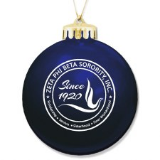 Zeta Phi Beta Ornament Ball