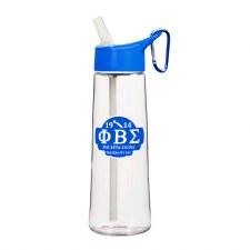 Phi Beta Sigma Clear Tritan Bottle