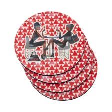 Delta Sigma Theta Coaster Set