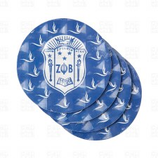Zeta Phi Beta Coaster Set