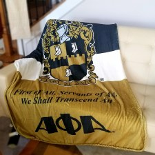 Alpha Phi Alpha Super Soft Blanket