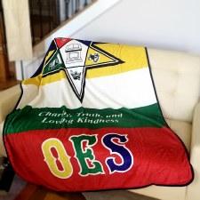 Order of Eastern Star Super Soft Blanket