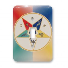 Order of the Eastern Star Light Switch Cover