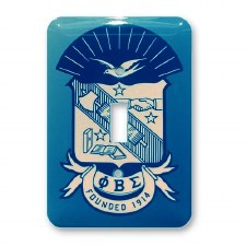 Phi Beta Sigma Light Switch Cover