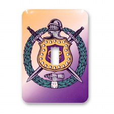 Omega Psi Phi Light Switch Cover