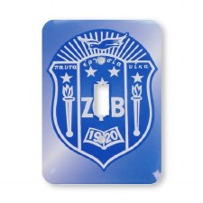 Zeta Phi Beta Light Switch Cover
