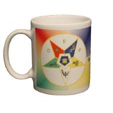 Order of the Eastern Star Crest Coffee Mug