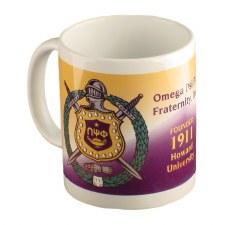 Omega Psi Phi Crest Coffee Mug