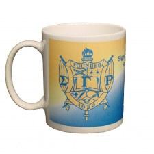 Sigma Gamma Rho Crest Coffee Mug