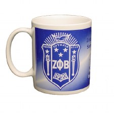 Zeta Phi Beta Crest Coffee Mug