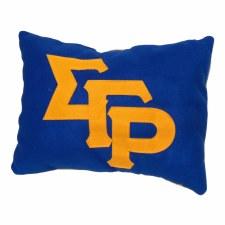 Sigma Gamma Rho Felt Letter Pillow