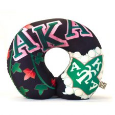 Alpha Kappa Alpha Plush Neck Pillow