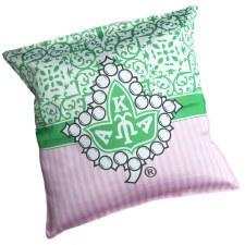 AKA Mosaic Mascot Print Pillow