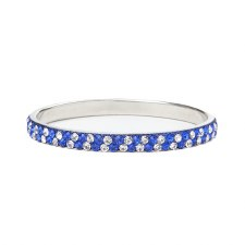 Zeta Phi Beta Thin Rhinestone Bangle