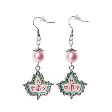 Alpha Kappa Alpha Pear Mascot Earrings
