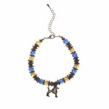 Sigma Gamma Rho Crystal Charm Bracelet