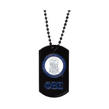 Phi Beta Sigma Signature Dog Tag