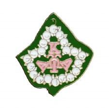 Alpha Kappa Alpha Mascot Ivy Lapel Pin