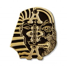 Alpha Phi Alpha Mascot Faces Lapel Pin