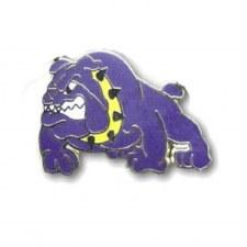 Omega Psi Phi Mascot Bulldog Lapel Pin