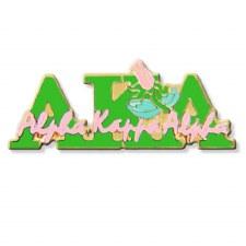 Alpha Kappa Alpha Signature & Mascot Lapel Pin