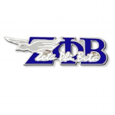 Zeta Phi Beta Signature & Mascot Lapel Pin