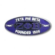 Zeta Phi Beta Founding Lapel Pin