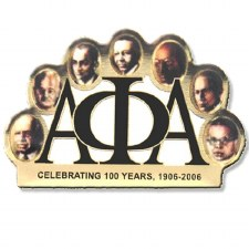 Alpha Phi Alpha Founder's Faces Lapel Pin