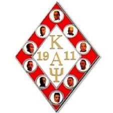 Kappa Alpha Psi Founder's Faces Lapel Pin