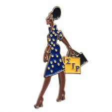 Sigma Gamma Rho Lady Diva Lapel Pin