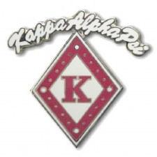 Kappa Alpha Psi Rocker Diamond K Lapel Pin