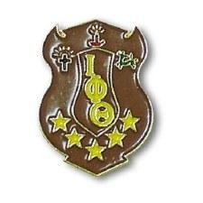 Iota Phi Theta Color Crest Lapel Pin