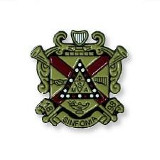 Phi Mu Alpha Color Crest Lapel Pin
