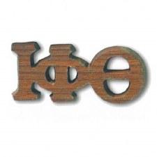 Iota Phi Theta Small Wooden Lapel Pin