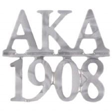 Alpha Kappa Alpha Silver Chapter Bar Lapel pin
