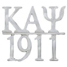 Kappa Alpha Psi Silver Chapter Bar Lapel pin