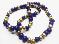 Sigma Gamma Rho Color Bead Necklace