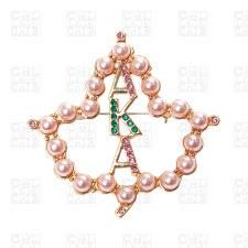 Pearl Mascot Brooch Pin
