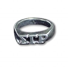 Sigma Gamma Rho Sterling Silver Ring