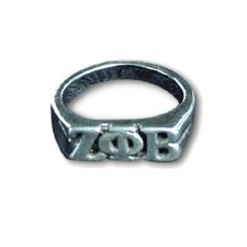 Zeta Phi Beta Sterling Silver Ring