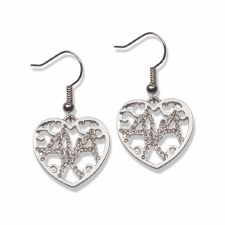 Alpha Kappa Alpha Filigree Earrings