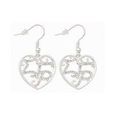 Sigma Gamma Rho Filigree Earrings