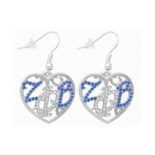 Zeta Phi Beta Filigree Earrings