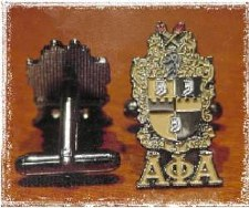Alpha Phi Alpha Crest Cuff Links