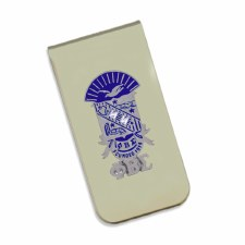 Phi Beta Sigma Crest Money Clip