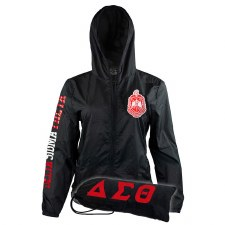 Delta Sigma Theta Travel Windbreaker